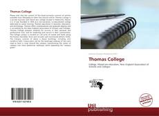 Bookcover of Thomas College