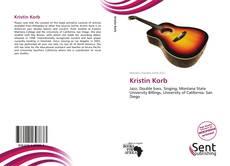 Bookcover of Kristin Korb