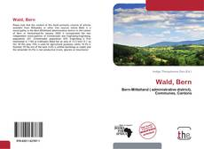 Bookcover of Wald, Bern