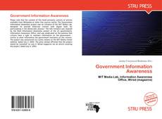 Capa do livro de Government Information Awareness