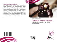 Bookcover of Colorado Supreme Court