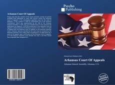 Borítókép a  Arkansas Court Of Appeals - hoz