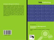 Bookcover of Emergency Management Software