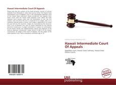 Hawaii Intermediate Court Of Appeals kitap kapağı