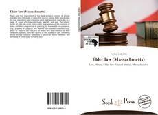 Bookcover of Elder law (Massachusetts)