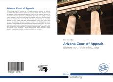 Arizona Court of Appeals kitap kapağı