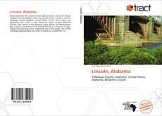 Portada del libro de Lincoln, Alabama