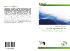 Bookcover of Mallikarjun Mansur