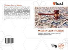 Michigan Court of Appeals kitap kapağı