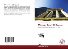 Copertina di Missouri Court Of Appeals