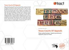 Bookcover of Texas Courts Of Appeals