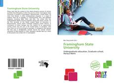 Bookcover of Framingham State University
