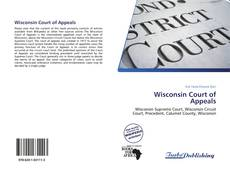 Copertina di Wisconsin Court of Appeals