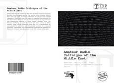Buchcover von Amateur Radio Callsigns of the Middle East