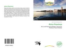 Bookcover of Arica Province