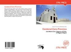 Portada del libro de Cardenal Caro Province