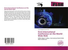 Couverture de First International Conference on the World-Wide Web