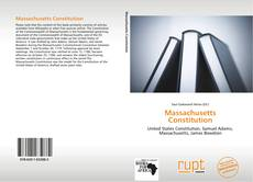 Massachusetts Constitution的封面