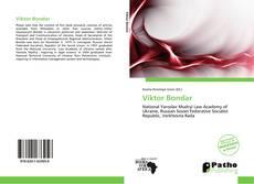 Portada del libro de Viktor Bondar
