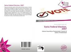 Bookcover of Swiss Federal Election, 2007
