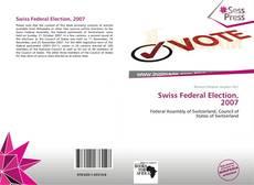 Swiss Federal Election, 2007 kitap kapağı