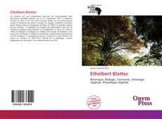 Borítókép a  Ethelbert Blatter - hoz