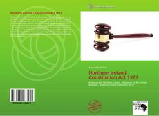 Bookcover of Northern Ireland Constitution Act 1973