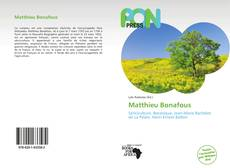 Bookcover of Matthieu Bonafous
