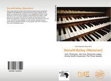 Portada del libro de Donald Bailey (Musician)