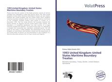 1993 United Kingdom–United States Maritime Boundary Treaties kitap kapağı
