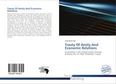 Treaty Of Amity And Economic Relations的封面