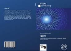 Capa do livro de SORM
