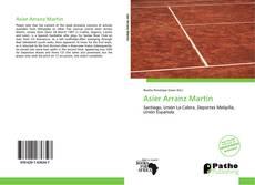 Capa do livro de Asier Arranz Martín