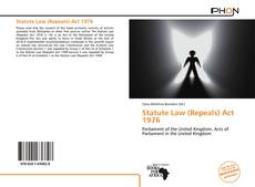 Capa do livro de Statute Law (Repeals) Act 1976