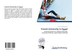 Portada del libro de French University in Egypt