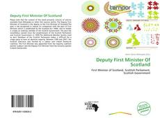 Capa do livro de Deputy First Minister Of Scotland