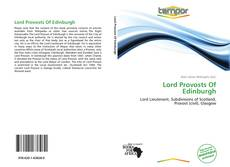 Bookcover of Lord Provosts Of Edinburgh