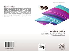 Scotland Office kitap kapağı
