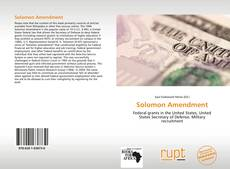 Couverture de Solomon Amendment