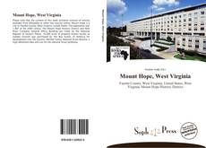 Bookcover of Mount Hope, West Virginia