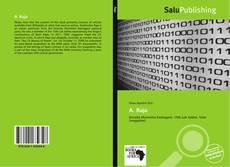 Bookcover of A. Raja