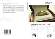 Bookcover of Respect For Marriage Act