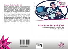 Bookcover of Internet Radio Equality Act