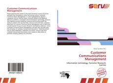 Bookcover of Customer Communications Management