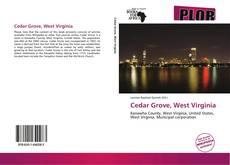 Buchcover von Cedar Grove, West Virginia