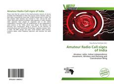 Buchcover von Amateur Radio Call-signs of India
