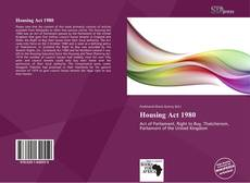 Couverture de Housing Act 1980