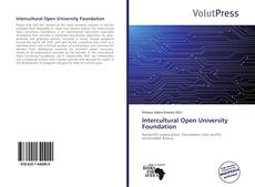 Capa do livro de Intercultural Open University Foundation