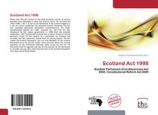 Обложка Scotland Act 1998