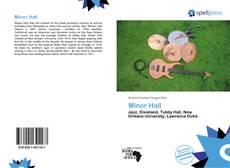 Copertina di Minor Hall